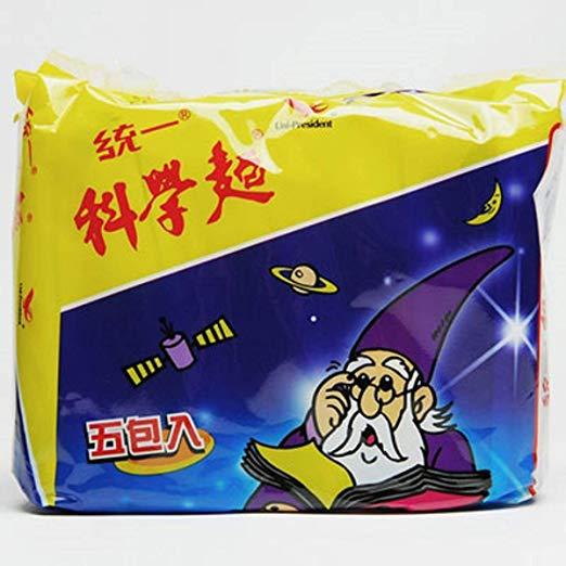 統一科學麵(5入/袋)